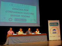El colegio Clemente Palencia inauguró el curso escolar en el Teatro Victoria