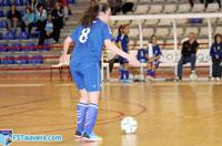 Un mal inicio de partido deja al FS Talavera femenino sin opción a reacción