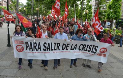 Los sindicatos ven en el 24M el punto de inflexión para acabar con las políticas de recortes