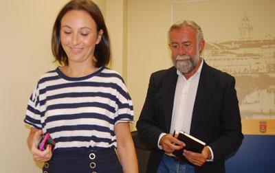 María Rodríguez seguirá siendo la portavoz municipal y primera teniente de alcalde