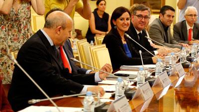 Marín, satisfecho de que el Ministerio haya garantizado la financiación de la Ley Orgánica para la Mejora de la Calidad Educativa