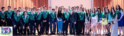 Se gradúa la 'Promoción de los 50 años' en el ColegioSanta María del Prado