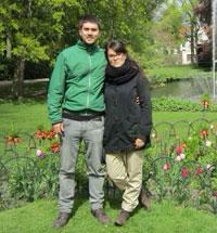 TALAVERANOS POR EL MUNDO: Marta Hernández y Sergio Castro, 30 años (Duisburg, Alemania)