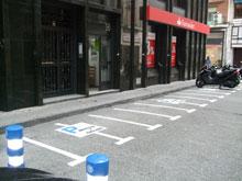 El Ayuntamiento habilita 40 nuevos aparcamientos para motos en San Isidro y Barrio Nuevo