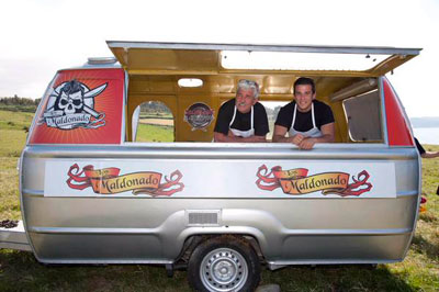 Carlos Maldonado estará acompañado de su padre en el nuevo programa de TVE 'Cocineros al volante'
