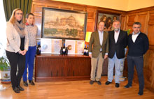 Ramos felicita a la Finca Capilla del Fraile por las Medallas de Oro a su vino y su aceite en Moscú