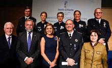 El intendente de la Policía Local de Talavera recibe la Medalla de Oro al Mérito Profesional