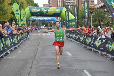 El talaverano Antonio Núñez y la extremeña Raquel Gómez, ganadores de la XXIX Media Maratón