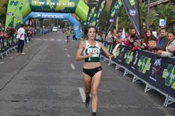 Raquel Gómez cruzó la primera la línea de meta en Juan Carlos I.