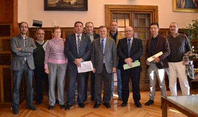 Manuel Fernández destaca la unanimidad para aprobar la nueva RPT en la Diputación