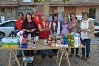 Migas solidarias con los más necesitados en el barrio La Milagrosa