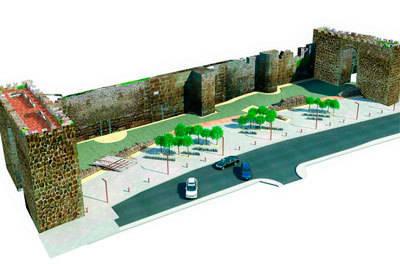 El Ministerio de Fomento deniega el 1,5% Cultural a Talavera para rehabilitar la muralla de Charcón