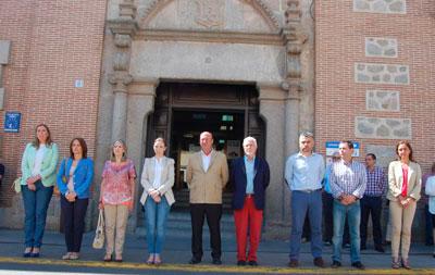 Talavera se suma al duelo por el asesinato de la presidenta de la Diputación de León