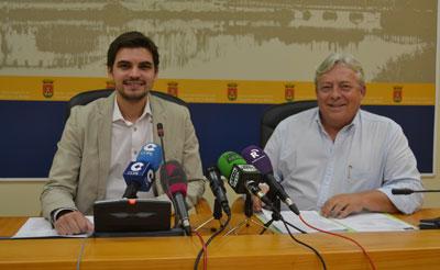 El portavoz municipal acompañó al concejal de Medio Ambiente, Florencio Gutiérrez.