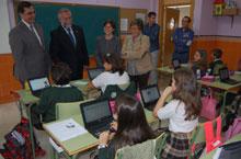 Cinco colegios de Talavera ya disponen del sistema educativo con Mochila Digital