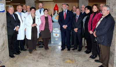 El Hospital General Nuestra Señora del Prado de Talavera de la Reina acoge un monumento al donante de sangre