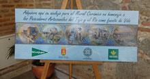 El mural de cerámica en homenaje al río Tajo estará finalizado durante el próximo mes de abril