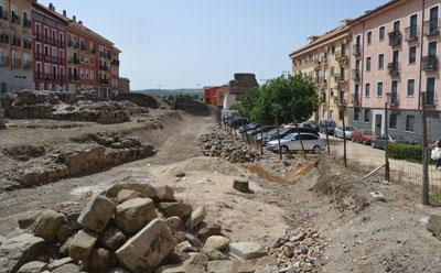 El Ayuntamiento urbanizará la calle Grisetas para crear un acceso al yacimiento de Entretorres