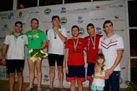 Los nadadores talaveranos también conquistan las tierras extremeñas