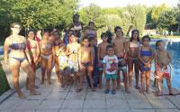 Los campeones de natación de Los Cerralbos se cuelgan sus medallas