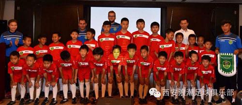 Una delegación de niños de Xian participarán en varias sesiones deportivas con el CF Talavera y el Ciudad de Talavera