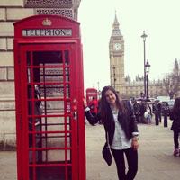 TALAVERANOS POR EL MUNDO: Noelia Clavero, 26 años (Guildford, Inglaterra)