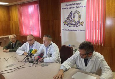 El Hospital de Talavera de la Reina incorpora una nueva terapia para el tratamiento del Parkinson