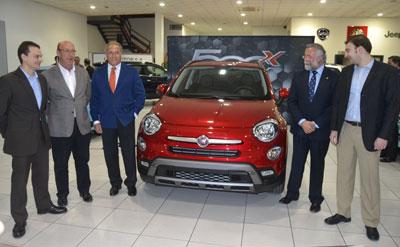 El concesionario JM Motor presenta el primer 'crossover' de Fiat, el 500X