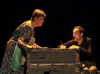 Paraskenia Teatro regresa a Talavera para interpretar de nuevo 'Volver a verte'