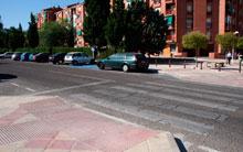 El Ayuntamiento de Toledo mejora los cruces pasos de peatones