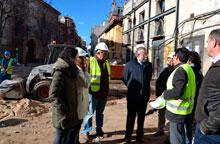 Las obras de la Plaza de San Andrés estarán concluidas el próximo 9 de marzo