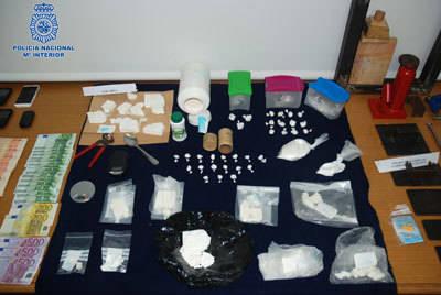 Desmantelados dos laboratorios clandestinos de cocaína en Toledo y Olías del Rey