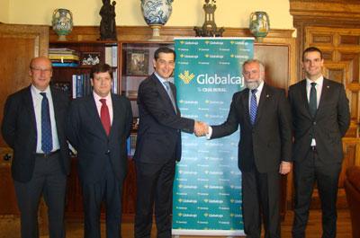 Globalcaja y el Ayuntamiento de Talavera cierran una operación de crédito de cuatro millones de euros