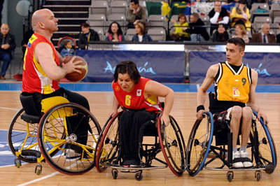 Seis expacientes del Hospital Nacional de Parapléjicos, en los campeonatos europeos de baloncesto en silla de ruedas