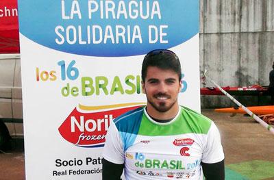 Cubelos gana el Selectivo K1 1.000 metros en Pontevedra y estará en el Mundial de Milán