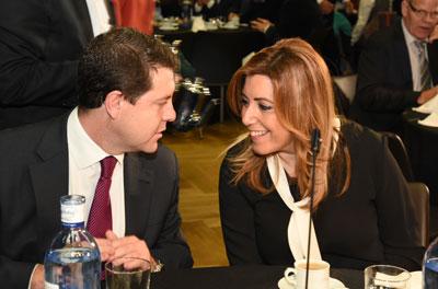 Díaz dice que admira a Page y que es la persona valiente, inteligente, decidida y audaz que necesita Castilla-La Mancha