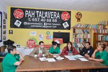 """La PAH pide que Talavera sea una ciudad """"libre de desahucios"""""""
