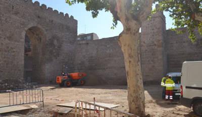 El aparcamiento de la Corredera se mantendrá pero con arbolado y más integrado en el entorno