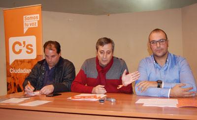 El partido Ciudadanos irrumpe en Talavera con la expectativa de conseguir representación