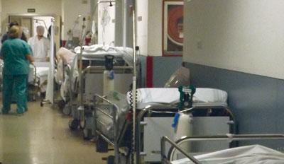 Las urgencias de Toledo y Talavera, entre otros hospitales, desbordadas