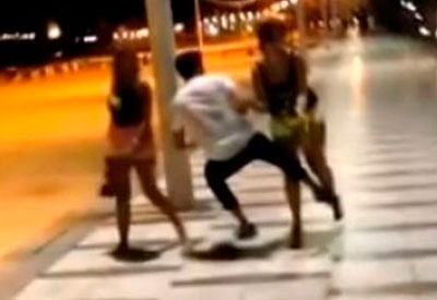 El talaverano que propinó una patada a una mujer en Barcelona era reincidente
