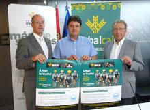 """""""Pedaladas solidarias"""" con la llegada de la Vuelta Ciclista a Albacete"""