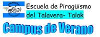 Campus de verano en la Escuela de Piragüismo del Talavera-Talak