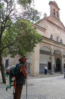 El peregrino de Talavera inicia un nuevo reto en honor a Ángela Sánchez