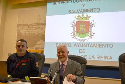"""Pérez de Vargas confirma """"la tendencia a la baja de las emergencias en la ciudad"""""""