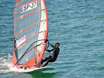 La alcarreña PilarPrieto, campeona de España en la modalidad de Fórmula Windsurfing