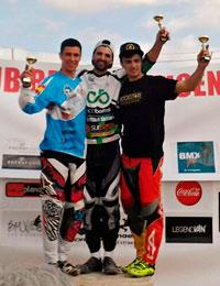 Plata para Alberto Ruiz en la Copa de España de BMX