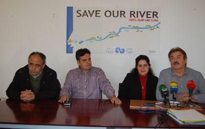 La Plataforma del Tajo e IU defienden este lunes el futuro del río en Bruselas