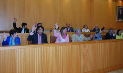 Los presupuestos municipales salen adelante con el único voto del Partido Popular