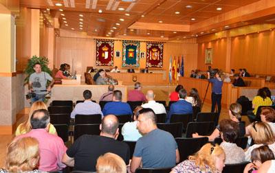 Despedidas y agradecimientos en el último pleno municipal de Talavera de la presente legislatura
